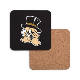 Hardboard Coaster w/Cork Backing-Deacon Head