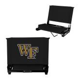 Stadium Chair Black-WF