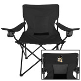 Deluxe Black Captains Chair-Deacon Head