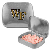 Silver Rectangular Peppermint Tin-WF