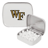 White Rectangular Peppermint Tin-WF