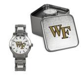 Ladies Stainless Steel Fashion Watch-WF