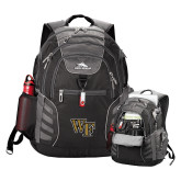 High Sierra Big Wig Black Compu Backpack-WF