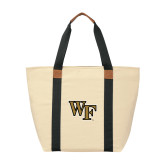 Natural/Black Saratoga Tote-WF