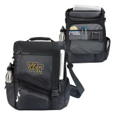 Momentum Black Computer Messenger Bag-WF
