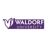 Large Decal-Waldorf University Academic Mark Flat, 12 inches wide