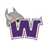 Small Decal-Waldorf W, 6 inches wide
