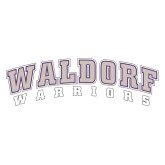 Extra Large Decal-Arched Waldorf Warriors, 18 inches wide
