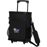 30 Can Black Rolling Cooler Bag-Waldorf W