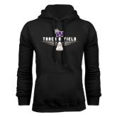 Black Fleece Hoodie-Track and Field Design