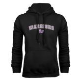 Black Fleece Hoodie-Arched Warriors w/ Waldorf W