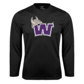 Performance Black Longsleeve Shirt-Waldorf W