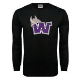 Black Long Sleeve TShirt-Waldorf W