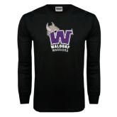 Black Long Sleeve TShirt-W Waldorf Warriors