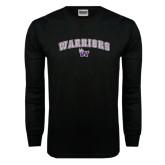 Black Long Sleeve TShirt-Arched Warriors w/ Waldorf W