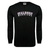 Black Long Sleeve TShirt-Arched Waldorf Warriors