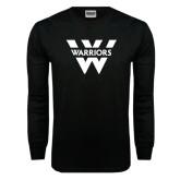 Black Long Sleeve TShirt-W Warriors