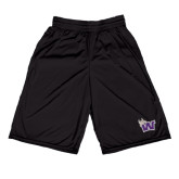 Russell Performance Black 10 Inch Short w/Pockets-Waldorf W