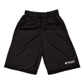 Russell Performance Black 10 Inch Short w/Pockets-Waldorf University Academic Mark Flat
