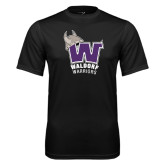 Performance Black Tee-W Waldorf Warriors