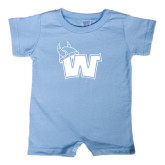 Light Blue Infant Romper-Waldorf W