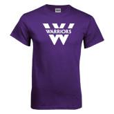 Purple T Shirt-W Warriors