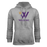 Grey Fleece Hood-Stacked W Waldorf