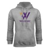 Grey Fleece Hoodie-Stacked W Waldorf