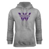 Grey Fleece Hoodie-W Warriors