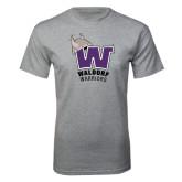 Grey T Shirt-W Waldorf Warriors