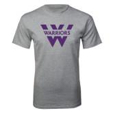 Grey T Shirt-W Warriors