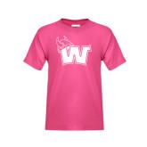 Youth Fuchsia T Shirt-Waldorf W
