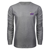 Grey Long Sleeve T Shirt-Waldorf W