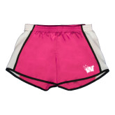 Ladies Fuchsia/White Team Short-Waldorf W