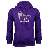 Purple Fleece Hood-Waldorf W