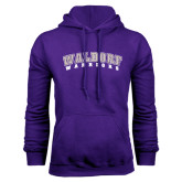 Purple Fleece Hood-Arched Waldorf Warriors
