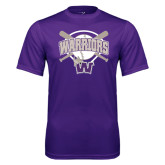 Syntrel Performance Purple Tee-Softball Bats and Plate Design