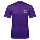 Performance Purple Tee-Waldorf W