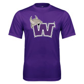 Syntrel Performance Purple Tee-Waldorf W