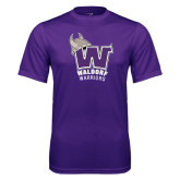 Syntrel Performance Purple Tee-W Waldorf Warriors