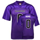Replica Purple Adult Football Jersey-Personalized