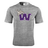 Performance Grey Heather Contender Tee-Waldorf W
