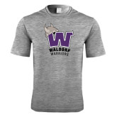 Performance Grey Heather Contender Tee-W Waldorf Warriors
