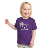 Toddler Purple T Shirt-Waldorf W