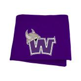 Purple Sweatshirt Blanket-Waldorf W