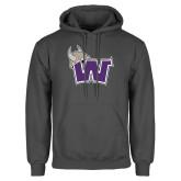 Charcoal Fleece Hoodie-Waldorf W