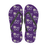 Ladies Full Color Flip Flops-Waldorf W