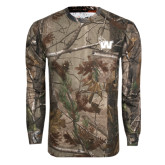 Realtree Camo Long Sleeve T Shirt w/Pocket-Waldorf W