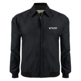 Black Players Jacket-Waldorf University Academic Mark Flat