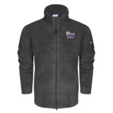 Columbia Full Zip Charcoal Fleece Jacket-Waldorf W